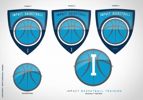 Impact Basketball Identity